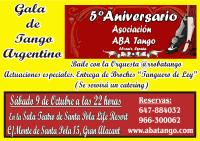 Foto 0 en  - Gala 5� Aniversario de la Asociaci�n ABA Tango