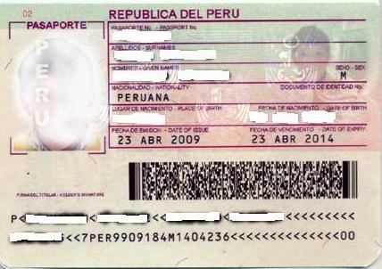 Requisitos para la renovación de pasaportes peruanos en España