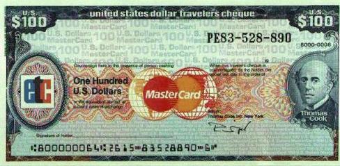 cheque de viaje