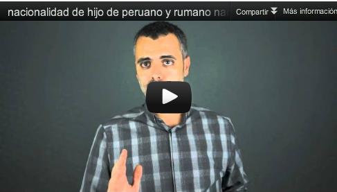 hijo peruana-rumano