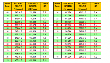 TABLA SALARIAL EMPLEADA DE HOGAR