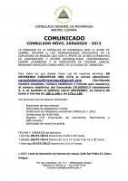CONSULADO MOVIL Nicaragua 2013