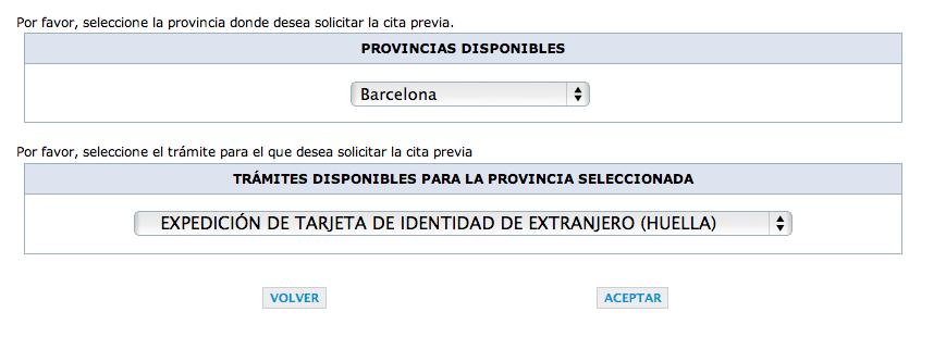 Cita previa para nie en rambla guip zcoa en barcelona for Oficina de empleo malaga cita previa