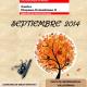 Programación del Centro Hispano Colombiano para el mes de septiembre de 2014