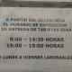Horario de expedición y entrega de tarjetas en Aluche