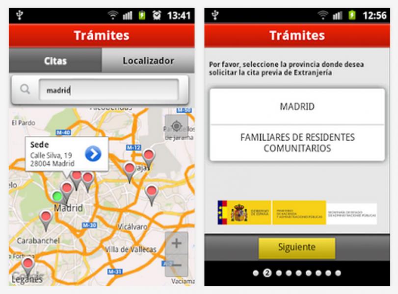 App Android para citas previas en España