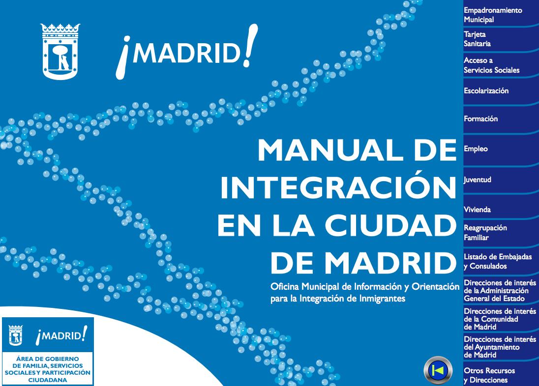 Manual de integraci n en la ciudad de madrid - Oficina de empadronamiento madrid ...