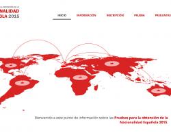 Comunicado del Instituto Cervantes sobre las exenciones a la realización de los exámenes de nacionalidad española