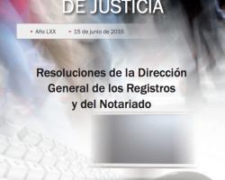 Resoluciones de la Dirección General de los Registros y del Notariado. Diciembre 2015