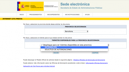 Presentaci n de solicitudes de extranjer a en barcelona for Oficina extranjeria murcia