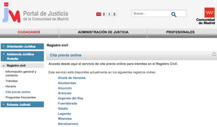 Noticias red ormiga for Oficina registro comunidad de madrid