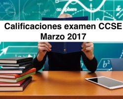 ¡Ya están disponibles las calificaciones del examen CCSE de Marzo 2017!