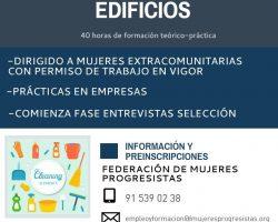 Curso de Limpieza para mujeres extracomunitarias