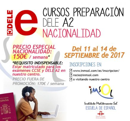 nuevos cursos de preparación al DELE septiembre