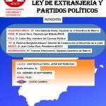 """Mesa Redonda """"Ley de Extranjería y Partidos Políticos"""""""