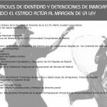 """Presentación del Informe """"Controles de Identidad y detenciones de inmigrantes"""""""