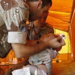 Médicos inmigrantes para el ejército español