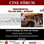 """Presentacion del documental """"Ellas son…Africa"""""""