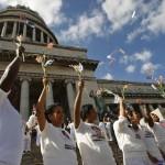 Comienza el exilio de presos cubanos a España