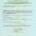 Certificado de Registro de Ciudadano de la U.E.
