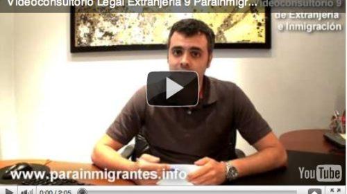 Videoconsultorio Legal de Extranjería (6). Ausencia de Alta en la Seguridad Social en trámite de Permiso de Trabajo.