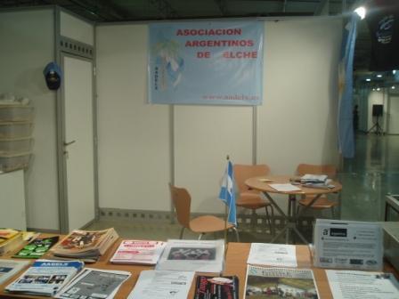 feria productos y servicios valencia asociación argentinos
