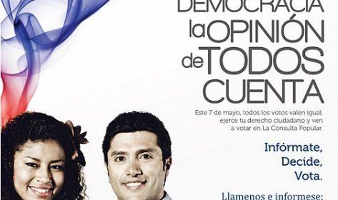 Resultados de la Consulta Popular Ecuatoriana en España