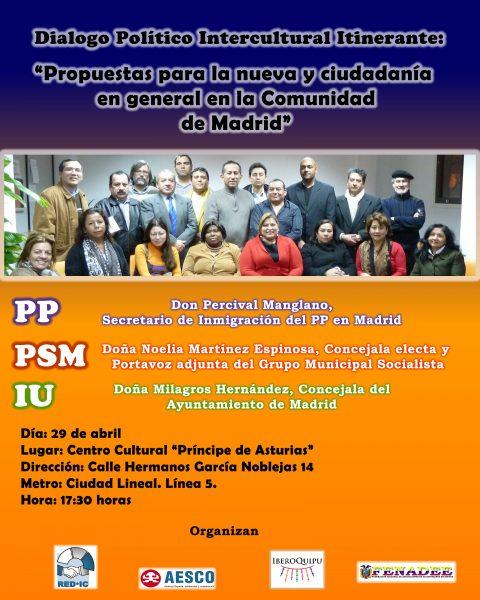Dialogo Inercultural. Red de apoyo para el Diálogo Inercultural