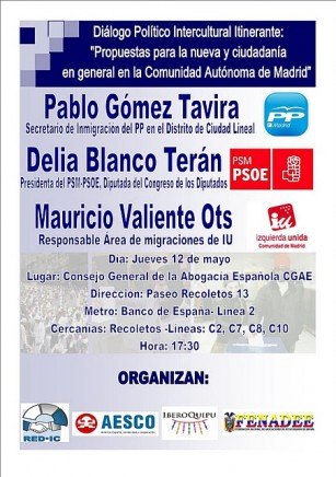 red apoyo dialogo intercultural madrid