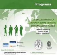 Encuentro Abogacia Extranjeria 2011