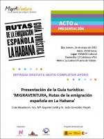 MIGRAVENTURA, RUTAS DE LA EMIGRACIÓN ESPAÑOLA EN LA HABANA