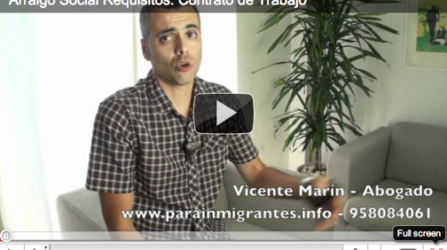 Arraigo Social. Video 4: Contrato de Trabajo