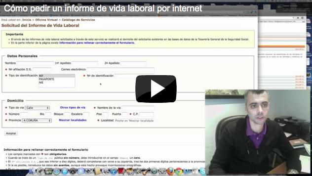 Como Solicitar Un Informe De Vida Laboral Por Internet