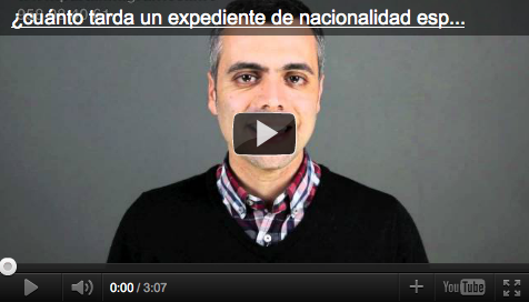 cuanto tarda un expediente de nacionalidad española