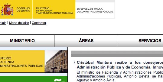 minhap.es minhap.gob.es