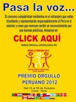 orgullo peruano 2012