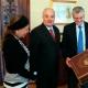 El Fiscal General ecuatoriano se entrevistó en Madrid con autoridades españolas