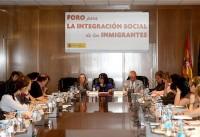 reunión del foro para la integración social de los inmigrantes