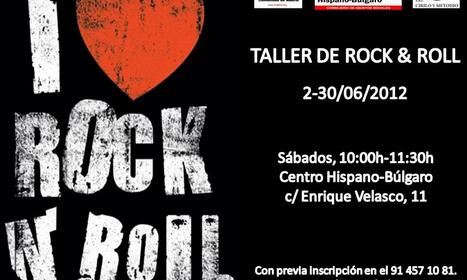 Taller de Rock and Roll en el Centro Hispano Búlgaro