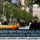 Página informativa para inmigrantes sordos