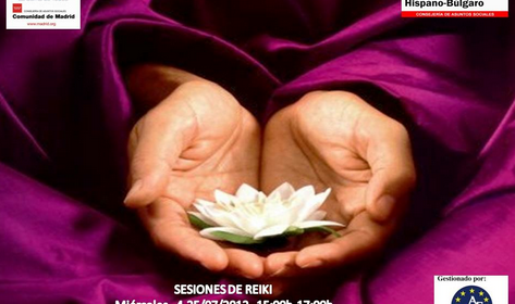 Sesiones de Reiki en el Centro Hispano Búlgaro