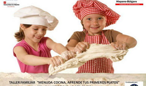 """Taller Familiar """"Menuda Cocina, Aprende Tus Primeros Platos"""" en el Centro Hispano Búlgaro"""
