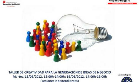 Taller de Creatividad para la Generación de Ideas de Negocio en el Centro Hispano Búlgaro