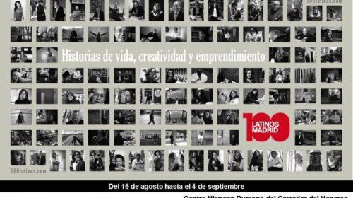 """Exposición fotográfica """"100 Latinos"""" en el Cepi Hispano-Rumano"""