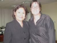 Ministra de Salud del Perú y Asambleista Dora Aguirre