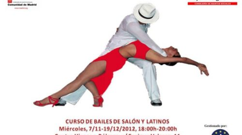 Curso de Bailes de Salón y Latinos en el Centro Hispano Búlgaro