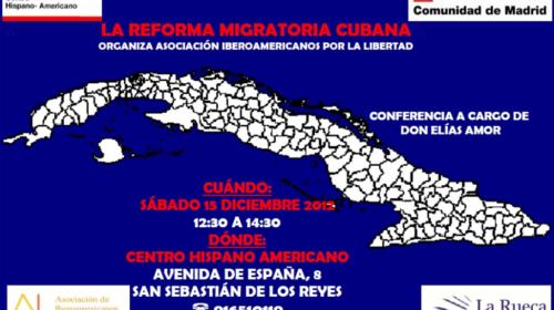 La Reforma Migratoria Cubana. Conferencia