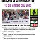 Manifestación por la Igualdad de los derechos de las personas inmigrantes
