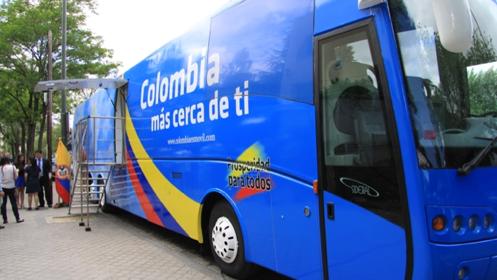 Consulado móvil de Colombia en Pontevedra. Mayo 2016