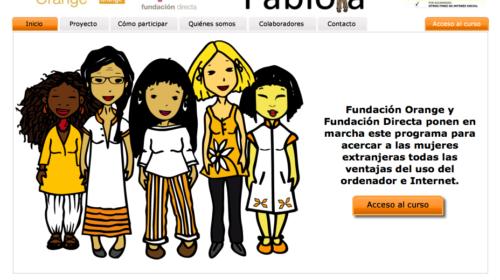 Hola Fabiola, un programa gratuito para acercar a las mujeres inmigrantes las ventajas del ordenador e internet